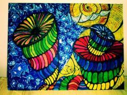 Picturi abstracte/ moderne Mind Trip