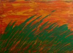 Picturi abstracte/ moderne Iarba