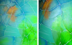 Picturi abstracte/ moderne Glass life