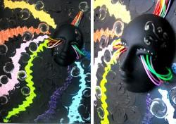 Picturi abstracte/ moderne Sonic rainbow