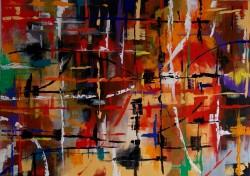 Picturi abstracte/ moderne Samba