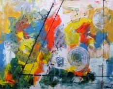 Picturi abstracte/ moderne Univers interior