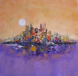 Picturi abstracte/ moderne Amurgul