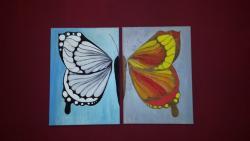 Picturi abstracte/ moderne Aripi de fluturi