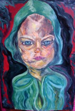 Picturi abstracte/ moderne Aproape