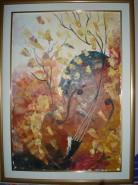Picturi abstracte/ moderne Vioara