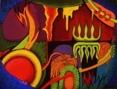 Picturi abstracte/ moderne Bizar