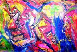 Picturi abstracte/ moderne MASCARAS