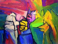 Picturi abstracte/ moderne PROTESTA