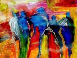 Picturi abstracte/ moderne SILUETAS