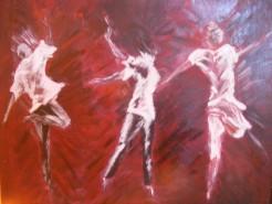 Picturi abstracte/ moderne Dans