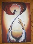 Picturi abstracte/ moderne Pahar