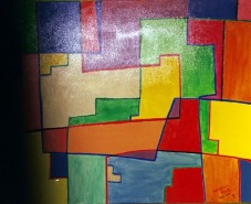 Picturi abstracte/ moderne Brighton rock