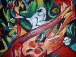 Picturi abstracte/ moderne Maimutica