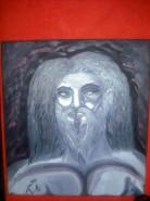 Picturi abstracte/ moderne Caveman