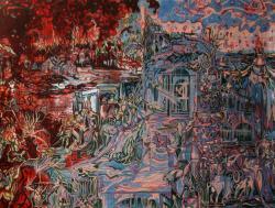 Picturi abstracte/ moderne BABILON