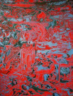 Picturi abstracte/ moderne Bosh Infernum