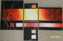 Picturi abstracte/ moderne Explozie