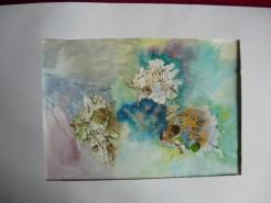 Picturi acuarela Flori din vis 1