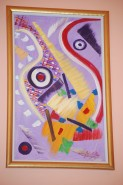 Picturi abstracte/ moderne Noroc