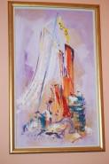 Picturi abstracte/ moderne Pata de culoare