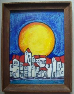 Picturi abstracte/ moderne Marea luna