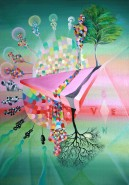Picturi abstracte/ moderne Anotimpuri 131.5x96.5