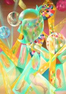 Picturi abstracte/ moderne Lumina miscatoare 90.2x66
