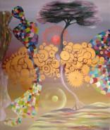 Picturi abstracte/ moderne Purificare mecanica 96x80.5