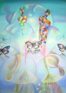 Picturi abstracte/ moderne Suflete pierdute 101x70.6