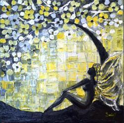 Picturi abstracte/ moderne Garden Angel