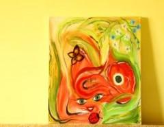 Picturi abstracte/ moderne Simfonia florilor
