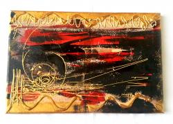 Picturi abstracte/ moderne GOLD VISION 1