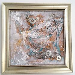 Picturi abstracte/ moderne STEAMPUNK STORM