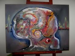 Picturi abstracte/ moderne Psihoza