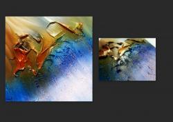 Picturi abstracte/ moderne ACVAMARIN 2
