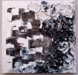 Picturi abstracte/ moderne ALB&NEGRU