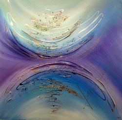 Picturi abstracte/ moderne AQUAMARIN 2