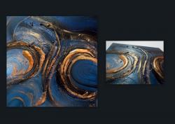 Picturi abstracte/ moderne AZURIU