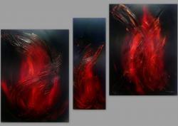 Picturi abstracte/ moderne FLAMES