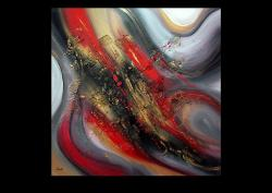 Picturi abstracte/ moderne FLAMES 9