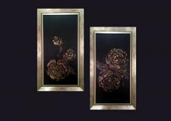 Picturi abstracte/ moderne GOLD ROSES