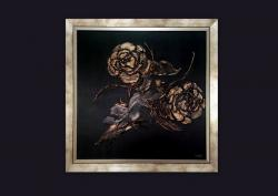 Picturi abstracte/ moderne GOLD ROSES 4