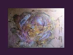 Picturi abstracte/ moderne GOLDEN ROSE