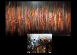 Picturi abstracte/ moderne METAL
