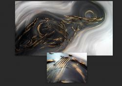 Picturi abstracte/ moderne OPAL 1