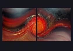 Picturi abstracte/ moderne RUBIN 8