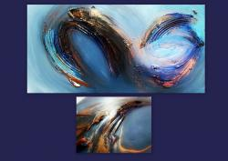 Picturi abstracte/ moderne WAVES 4