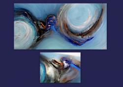 Picturi abstracte/ moderne WAVES 5