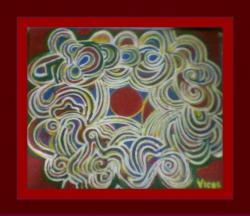 Picturi abstracte/ moderne Joc cu linii